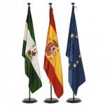 Bandera de Interior raso-bordada