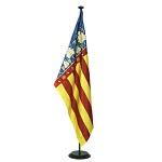 Bandera de Interior raso-estampada regional