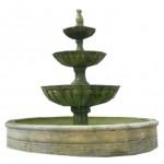 Fuentes ornamentales de materiales