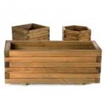 Jardineras de madera de exterior
