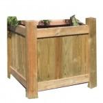 Jardinera de madera Villa