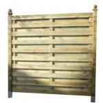 Mampara de madera Kent 180 x 180 cm