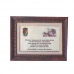 placa conmemoración