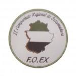 placa circular conmemorativa