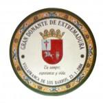 placa circular conmemorativa ayto